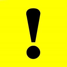 """1166 Наклейка """"Начинающий водитель"""" виниловая, комплект (10 шт.), размер 15*15см"""