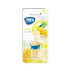 15231  Ароматизатор подвесной,жидкий,флакон с деревянной крышкой,5мл,в блистере,WOOD Лимон (Lemon),