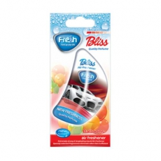 15273 Ароматизатор подвесной,гелевый,парус,BLISS Cars,Balloons(Balloons),FRESH WAY,Болгария,VICTO