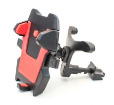 D4210 Держатель для мобильного телефона на решетку воздуховода Кальмар-018, красный, в блистере