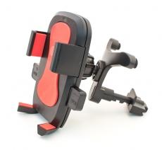 D4223 Держатель для мобильного телефона на решетку воздуховода Кальмар-006, красный, в блистере