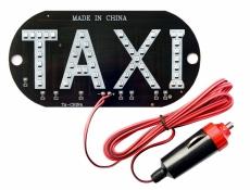 D7044 Табличка TAXI светодиодная со штекером в пакете
