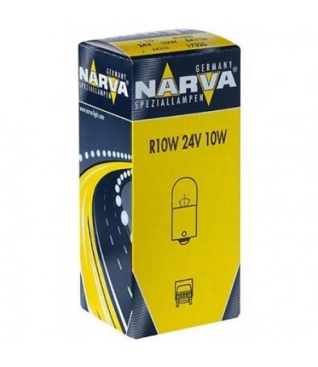Автолампа 24V R10W BA15s NARVA 17326