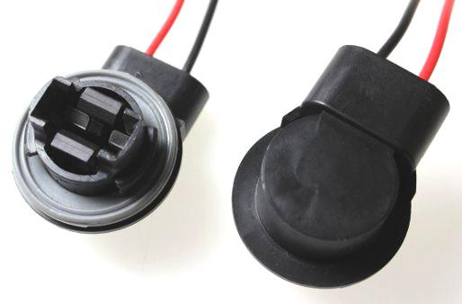 904363 Патрон под лампу W21W с проводами, пластик TM Nord YADA
