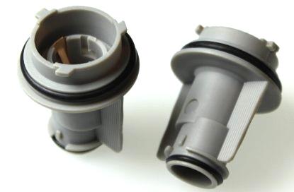 903180 Патрон под лампу PY21W BAU15s (тип3) прямой, пластик TM Nord YADA