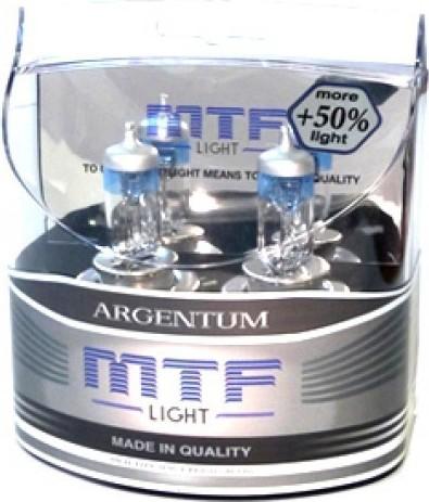 MTF Автолампа HB4  9006 12V 55w Argentum +50% 3500K
