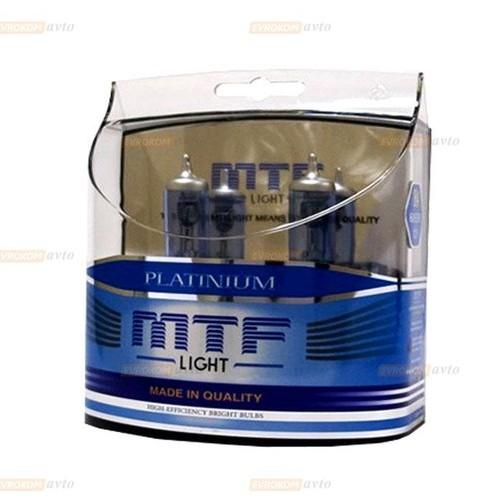 MTF Автолампа H3 12V 55w Platinum 3800K