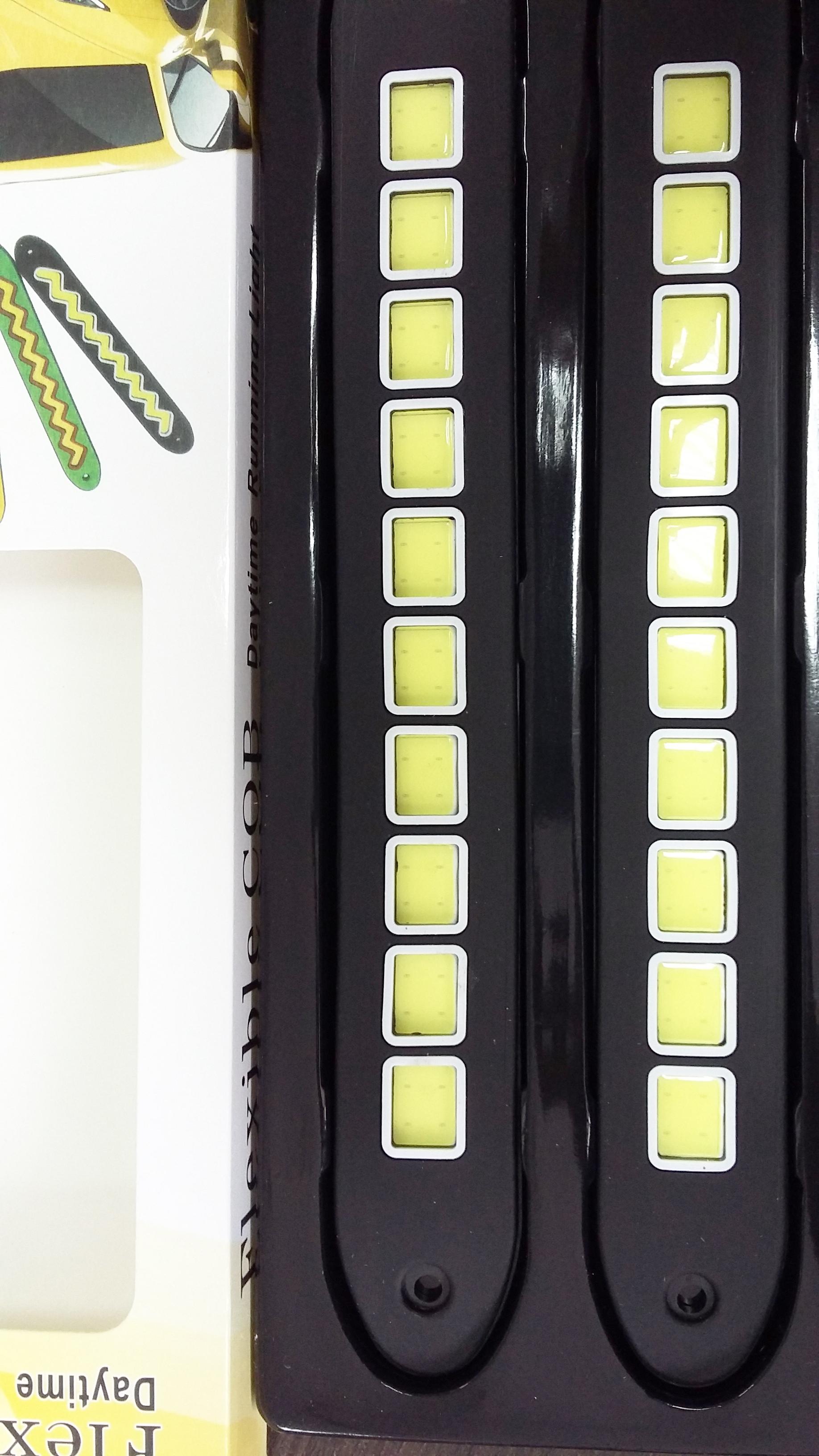 Дневные ходовые огни  LED Гибкие  (10квадратов)