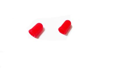 Резиновый колпачек под лампу w5w (красный)