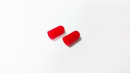 Резиновый колпачек под лампу D3 (красный)