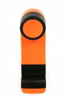 D3014 Держатель для телефона на дефлектор Imolint, оранжевый