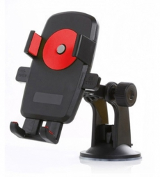 D4125 Держатель для телефона практик, красный