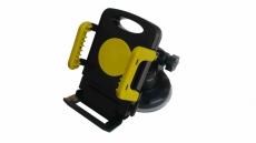 D4146 Держатель для телефона, черно-желтый