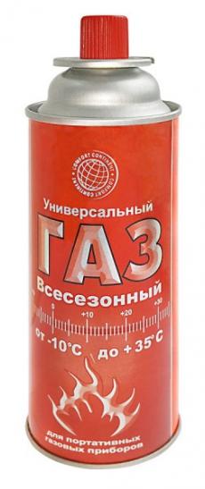 D7022 Газ универсальный всесезонный Россия