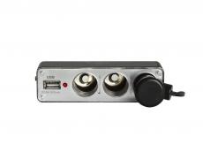 G4001 Разветвитель гнезда прикуривателя на 3 устройства с USB, 96