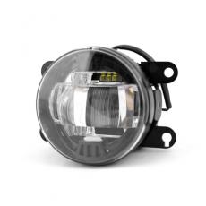 Противотуманная фара светодиодная автомобильная MTF Light 12В 10Вт ЕСЕ R19 Е6 Универсальные