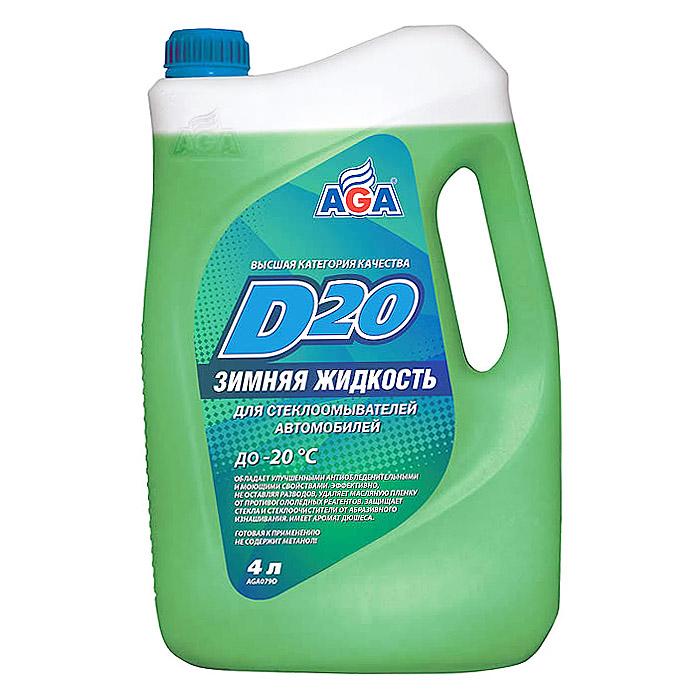 079 Зимняя жидкость (-20С) для стеклоомывателей автомобилей AGA