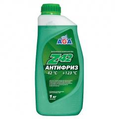 048 Антифриз, готовый к применению, зеленый, -42С 946 мл ANTIFREEZE AGA-Z42, PREMIX