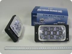 PL-519DLE LED  Фара противотуманная (белая, LADA 2110-2115)хром, 2шт.