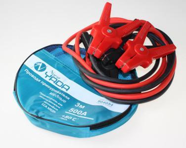 904054 Провода прикуривателя медные 500А (3м) в сумке Nord YADA