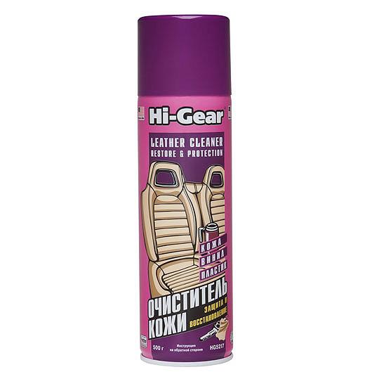 5217 HG Очиститель-кондиционер для кожи, аэрозоль LEATHER LUX LEATHER CLEANER CONDIT