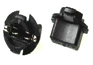 903186 Патрон  под лампу W5W (T10 тип 9)  пластик TM Nord YADA