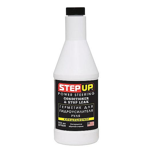 7028 STEPUP Кондиционер и герметик для гидроусилителя руля POWER STEERING CONDITIONER
