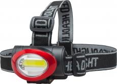 X0116 Налобный водонепроницаемый фонарь Headlamp COB KJ-6833