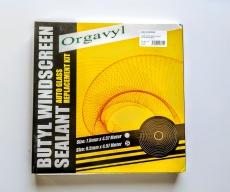 0140028000 Герметик для фар ленточный 9,5 cm*4.57м чёрный