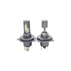 Комплект светодиодных ламп SVS H4 серии N3 (CSP1860-чип/2000Lm/5000K/12-24V/20W/IP67)
