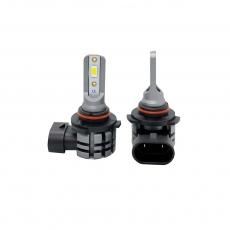 Комплект светодиодных ламп SVS HB4/9006 серии N3 (CSP1860-чип/2000Lm/5000K/12-24V/20W/IP67)