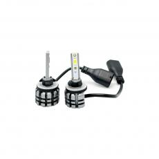 Комплект светодиодных ламп SVS H27 серии N3 (CSP1860-чип/2000Lm/5000K/12-24V/20W/IP67)
