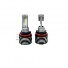 Комплект светодиодных ламп SVS H15 серии N3 (CSP1860-чип/2000Lm/5000K/12-24V/20W/IP67)