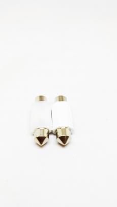 T11-2-39smd )CER CAN 12/24v Лампа светодиодная (C5W SV8.5 2-smd 39mm)