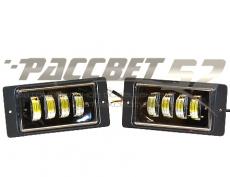 ПТФ ВАЗ2115-2110 + Камаз (Белый/Желтый) 9-32V