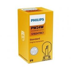 Автолампа 12V-24W PW24W WP3.3x14.5/4 Philips 12182HTRC1