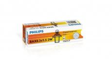 Автолампа 12V 2W BAX8,3s/1.5 (голубой патрон) Philips 12602