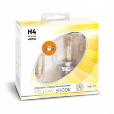 Галогенные лампы SVS серия YELLOW H4 60/55W+W5W комплект 2шт.