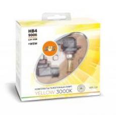 Галогенные лампы SVS серия YELLOW HB4/9006 55W+W5W комплект 2шт.