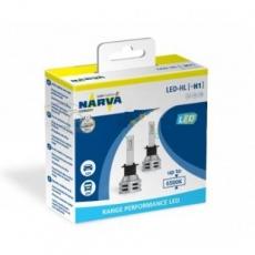 18057 Лампа светодиодная 12V H1 6500K Range Perfomance LED (к-т 2шт.) NARVA Гарантия 1 год.