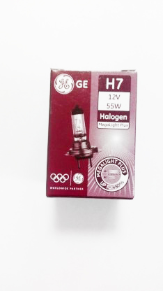 Автолампа H7 12V 55W PX26 Megalight Plus +60% General Electric (к.кор.1 шт)