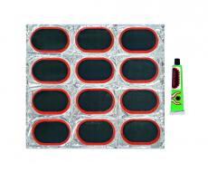 D4008 Набор резиновых лопаток для ремонта камер 12шт