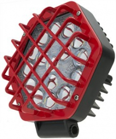 Ulight 2121FR Фара светодиодная 48W ближний/рабочий Красный 12-24 V (1шт.)