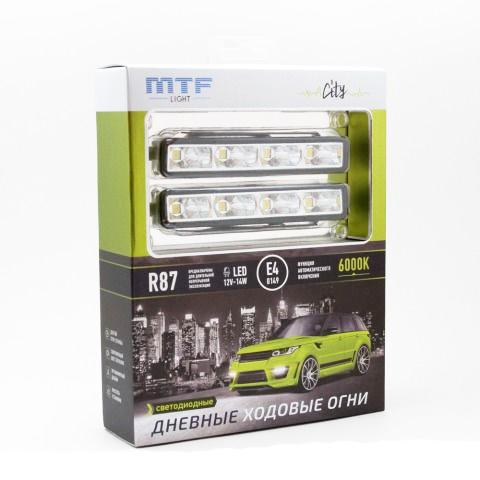 LDL 125 MTF Светодиодные дневные ходовые огни 6000К, 12В, 14Вт,ECE R87 Серия CITY ком-т