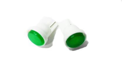 T10-1COB (12) Лампа светодиодная 12V W5W W2.1*9.5d 1COB FP Зеленая