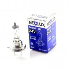 N499A Автолампа 24v H7 55W PX26d NEOLUX