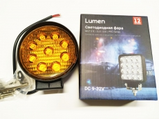 Фара Lumen 27WR Amber (Flood)
