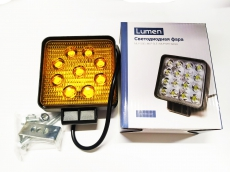 Фара Lumen 27WS Amber (Flood)
