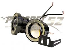 Фара п/туманная светодиодная-76мм LED SUPERLAMP FOGANGEL EYES