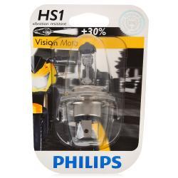 12636BW Мотолампа HS1 12V-35/35W (PX43T) Vision Moto Philips